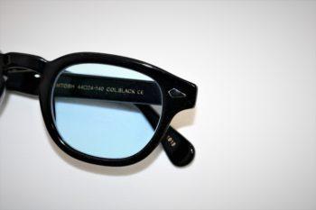 MOSCOT モスコット ZEV ゼブ 岡山眼鏡店 okayamagankyoten カラーレンズ ブルーレンズ ジョニー・デップ