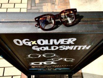 OG×OLIVER GOLDSMITH オージー・バイ・オリバー・ゴールドスミス Re.RORY 46 リ・ロリー 岡山眼鏡店 okayamagankyoten