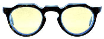 LESCA VINTAGE 8mm 2pin Crown Panto fv0556 DH/Blue