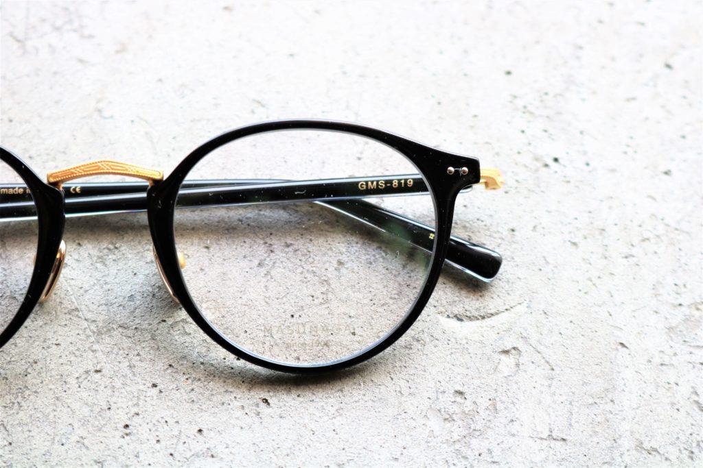 MASUNAGA G.M.S. 増永眼鏡 GMS-812 819 803 805 日本製 福井 岡山眼鏡店 okayamagankyoten