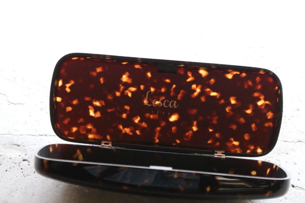 Lesca LUNETIER GLASSES CASE EYEWEAR メガネケース Acetate アセテート 岡山眼鏡店 okayamagankyoten