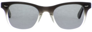 JULIUS TART OPTICAL SEAFARE Black-Clear Fade S Grey 1010302701