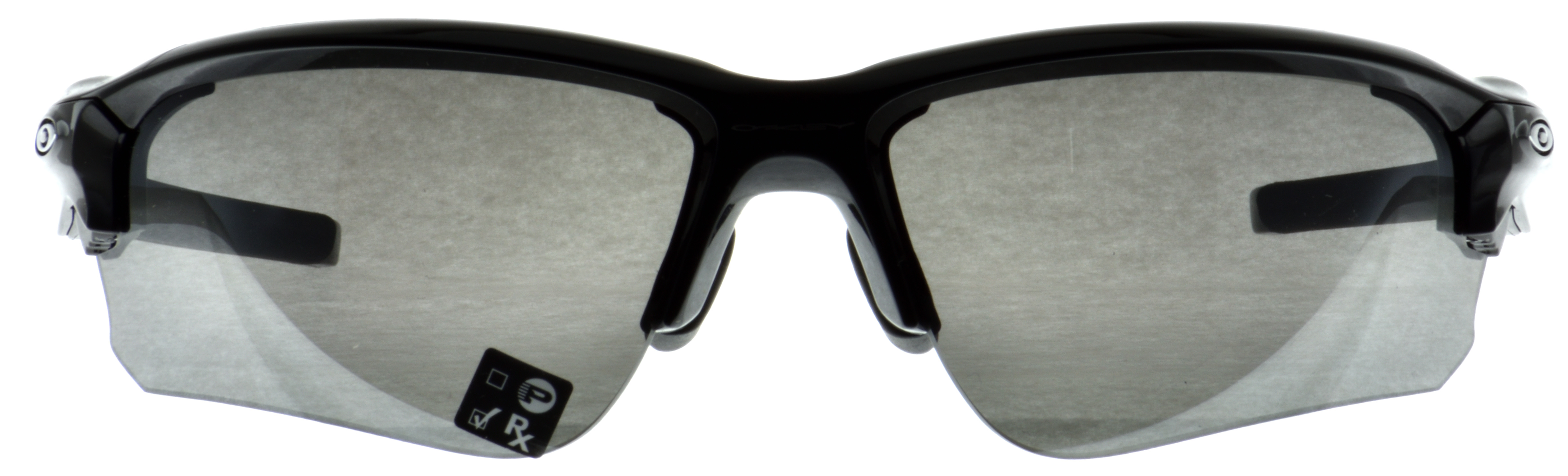 OAKLEY FLAK DRAFT(A) POLISHED BLACK BLACK IRIDIUM 001
