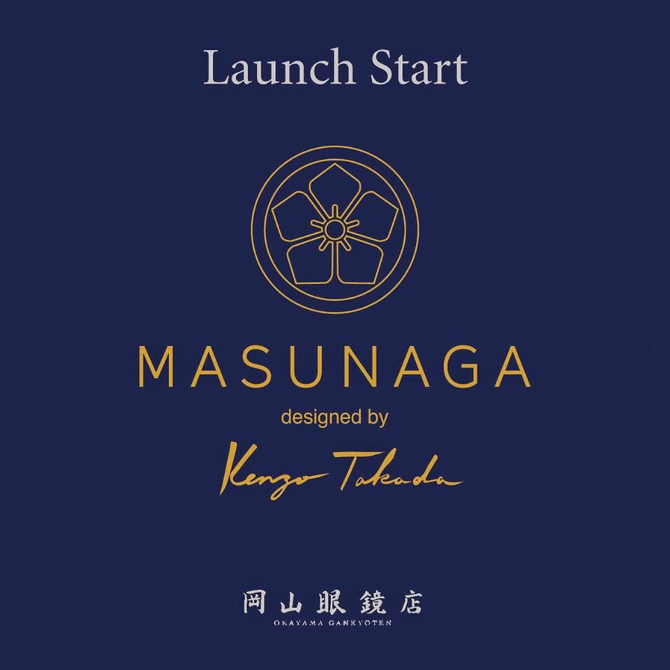 MASUNAGA designed by Kenzo Takada マスナガ ケンゾータカダ 岡山初 取扱い 初上陸 増永眼鏡 岡山眼鏡店 okayamagankyoten