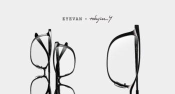 EYEVAN × tokujin.y 吉岡徳仁 E-TY0001 E-TY0002 コラボレーション 岡山眼鏡店 okayamagankyoten アイヴァン