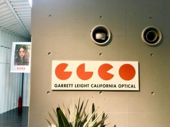 GARRETT LEIGHT CALIFORNIA OPTICAL ギャレットライトカリフォルニアオプティカル GLCO 展示会 EXHIBITION 岡山駅 岡山眼鏡店 okayamagankyoten
