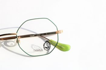 Seacret Remedy シークレット・レメディ S-021 Yolande 4周年 限定 コラボレーション 別注 岡山眼鏡店 okayamagankyoten