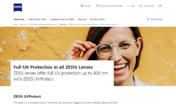 ZEISS VISION CARE ツァイスビジョンケア CARL カール UV 紫外線 岡山眼鏡店 okayamagankyoten