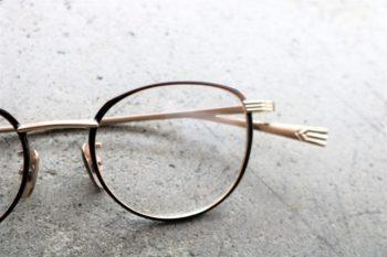 OG×OLIVER GOLDSMITH オージーバイオリバーゴールドスミス CUT THREE 44 岡山眼鏡店 okayamagankyoten
