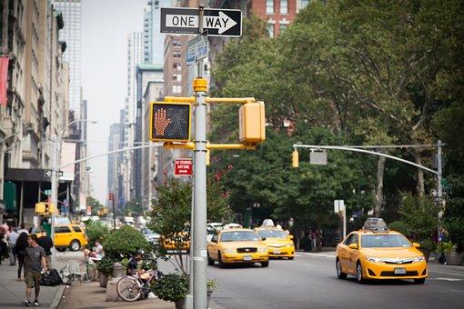 NYC ニューヨーク NEW YORK アメリカ タクシー TAXI 岡山眼鏡店 okayamagankyoten
