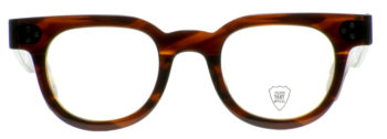 JULIUS TART OPTICAL FDR 46□24 Demi Amber ¥37,000 01