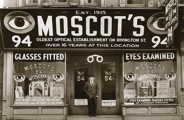 MOSCOT モスコット Hyman ハイマン アメリカニューヨークロウワーマンハッタン 1915年 岡山眼鏡店 okayamagankyoten