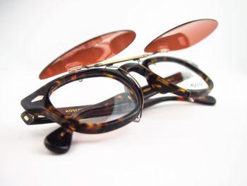 MOSCOT モスコット LEMTOSH レムトッシュ 岡山眼鏡店 okayamagankyoten original clipon sunglasses オリジナルクリップオンサングラス