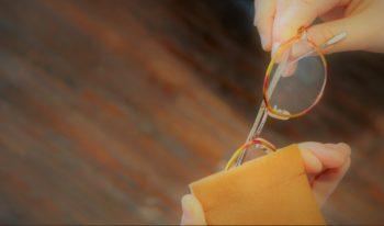 EYFe アイフ Leather Soft Case レザーソフトケース メガネ 眼鏡 ピッグスキン ハンドメイド 岡山眼鏡店 okayamagankyoten