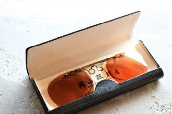 CLIPONSUNGLASSES クリップオンサングラス 専用ケース 岡山眼鏡店 okayamagankyoten