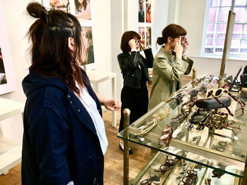 春展示会 EXHIBITION 岡山眼鏡店 okayamagankyoten 東京 Lesca LUNETIER レスカルネティエ