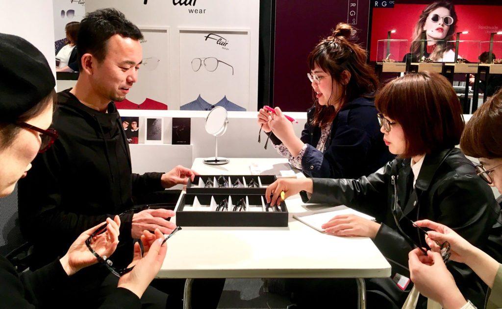 春展示会 EXHIBITION 岡山眼鏡店 okayamagankyoten 東京 JAPONISM ジャポニスム