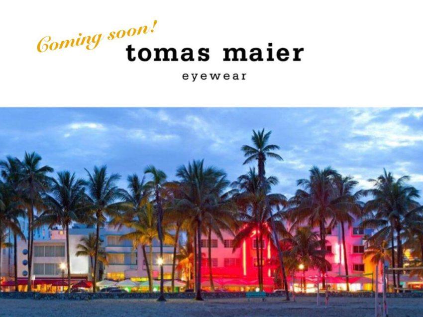 tomas maier eyewear トーマスマイヤーアイウェア Luanch ローンチ 岡山初上陸 岡山眼鏡店 okayamagankyoten