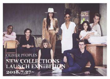 OLIVER PEOPLES 2018 NEW COLLECTIONS LAUNCH EXHIBITION オリバーピープルズ RESORT 岡山眼鏡店 okayamagankyoten