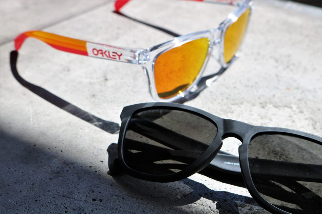 OAKLEY オークリー Frogskins フロッグスキン GRIPS COLLECTION BLACKCAMO Sports Lab. by 岡山眼鏡店 スポーツラボ