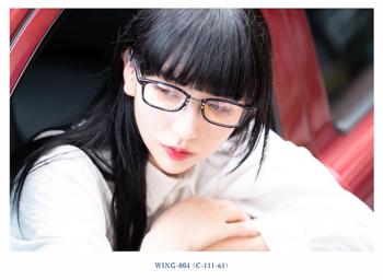 EVE un BLUE イヴアンブルー WING-004 2nd collection 2018 岡山眼鏡店 okayamagankyoten