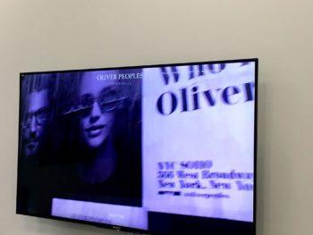 OLIVER PEOPLES オリバーピープルズ Who is OLIVER? 春東京展示会 岡山眼鏡店 okayamagankyoten