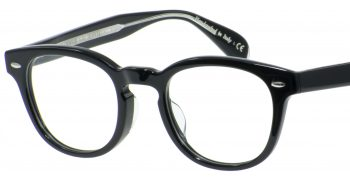 OLIVER PEOPLES Sheldrake A 1492 黒クリアグレー47 001